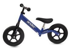 Xe thăng bằng Ander Basic-Màu xanh dương-Dành cho trẻ từ 18 tháng đến 6 tuổi, có thể có khung than hợp kim chắc chắn, màu sơn đa dạng phù hợp