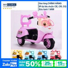 Xe máy điện trẻ em mèo con dễ thương BBT Global BBT-669