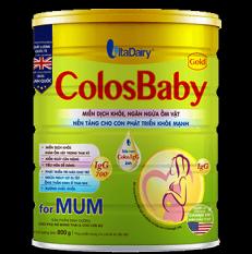 CHÍNH HÃNG] Sữa Bột VitaDairy ColosBaby Gold for MUM Hộp 400g (Cho phụ nữ mang thai & cho con bú)
