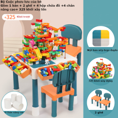 Bộ bàn đa năng lắp ráp lego cho bé