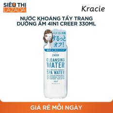 Nước khoáng tẩy trang dưỡng ẩm 4 trong 1 CreeR 330ml