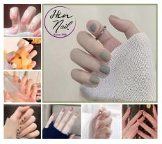 [TẶNG kèm keo] Bộ 24 móng tay giả có keo sẵn dán móng – hàng cao cấp nghệ thuật chống nước – mong tay giả giá rẻ