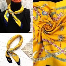 khăn thu đông:khăn lụa,size 70*70,hoạ tiết hoa lá,hình