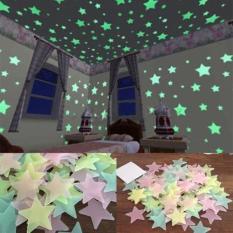 gói 100 ngôi sao dán tường dạ quang 3cm + Tặng kèm thẻ tích điểm. GỒM 100 MIẾNG DÁN XỐP 2 MẶT KÈM THEO SẢN PHẨM THÍCH HỢP LÀM QUÀ TẶNG, DÁN TƯỜNG TRANG TRÍ