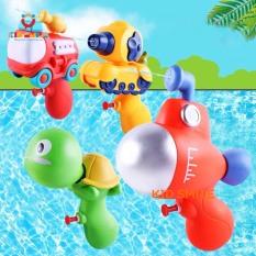Đồ chơi mùa hè trẻ em máy bắn nước hình hoạt hình ngộ nghĩnh, đáng yêu nhựa ABS cao cấp cho bé từ 1 tuổi trở lên vui chơi thư giãn