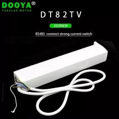 Động cơ rèm Motor Dooya DT82TV + Remote ( hoạt động yên tĩnh)
