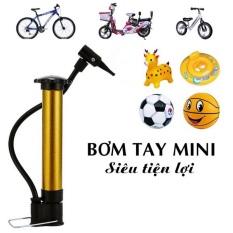 Bơm mini cầm tay chuyên bơm xe đạp, bơm xe máy, bơm bóng