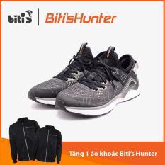 [TẶNG 1 ÁO KHOÁC HUNTER TỪ 3/3 – 31/3] Giày Chạy Bộ Nữ Biti's Hunter Running Grey DSWH03900XAM (Xám)