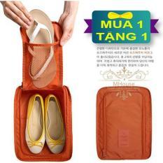 Mua 1 Tặng 1. Túi Giày chống thấm nước. Túi đa năng đựng các vật dụng khác