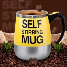 Cốc Tự Khuấy Tự Động – Ly Tự Động Khuấy pha sữa, ngũ cốc, cà phê tự động Self Stirring Mug