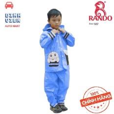 [ TIỆN DỤNG] Rando Bộ quần áo đi mưa trẻ em ong mật Size 6 dành cho bé có chiều cao từ 150 -155 cm