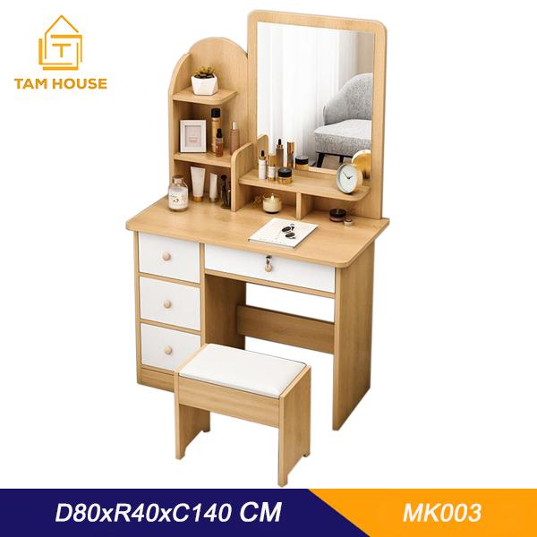 Tâm House Bàn trang điểm gỗ cao cấp – MK03