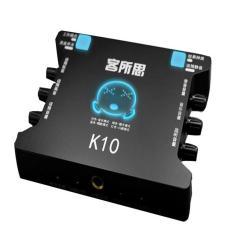 Sound card XOX K10 hát thu âm