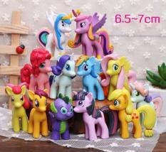 Đồ Chơi Mô Hình 12 Nàng Ngựa Thiên Thần Pony Xinh Đẹp 6cm – 8cm