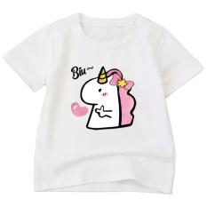 Áo thun bé gái chất liệu cao cấp thoải mái thiết kế thời trang dễ phối trang phục ATBT100 thời trang ELSA (nhiều màu)