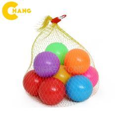 Combo 10 Quả bóng nhựa đồ chơi kích thước 5.5cm vui nhộn cho trẻ em, chất liệu nhựa an toàn