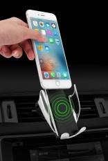 Giá đỡ điện thoại kiêm sạc không dây tự động điều chỉnh