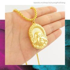 Dây Chuyền Phật Di Lặc Mạ Vàng 24k Hộ Mệnh An Lạc DCP01