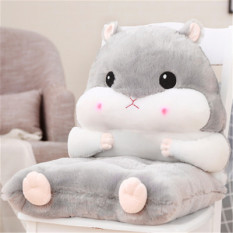 Đệm êm tựa lưng, lót ghế hình động vật, siêu dễ thương (hàng có sẵn)