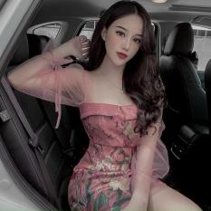 [Đầm Mới] Đầm Ôm Cúp Ngực Tay Dài Kèm Quần Trong LONG Mart Màu Sắc Nhã Nhặn Thật Sự Phù Hợp Để Tới Công Sở, Đi Làm Hoặc Đi Chơi,Free Size Dưới 55kg,Phù Hợp Mọi Với Mọi Phong Cách.