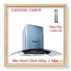 Máy Hút Mùi Kính Cong Cao Cấp CANAVAL CA8670