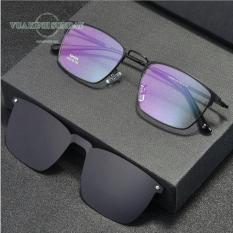 Gọng kính cận râm 2 mắt V233