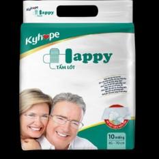 Tấm lót Kyhope Happy người lớn 10 Miếng