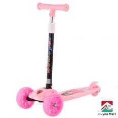 Xe trượt Scooter 3 bánh cho bé từ 2 đến 8 tuổi ( bánh phát sáng có thể gập gọn )