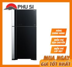 Trả Góp 0% – Tủ lạnh Hitachi 550 lít R-FG690PGV7X (GBK) – Bảo hành 12 tháng – Miễn phí vận chuyển HCM