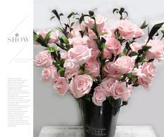 {Khuyến mãi sốc}Hoa giả trang trí – hoa trang trí bàn – hoa trang trí đám cưới – Nhập khẩu Quảng Châu – Chất liệu nhựa kết hợp xốp love house decor