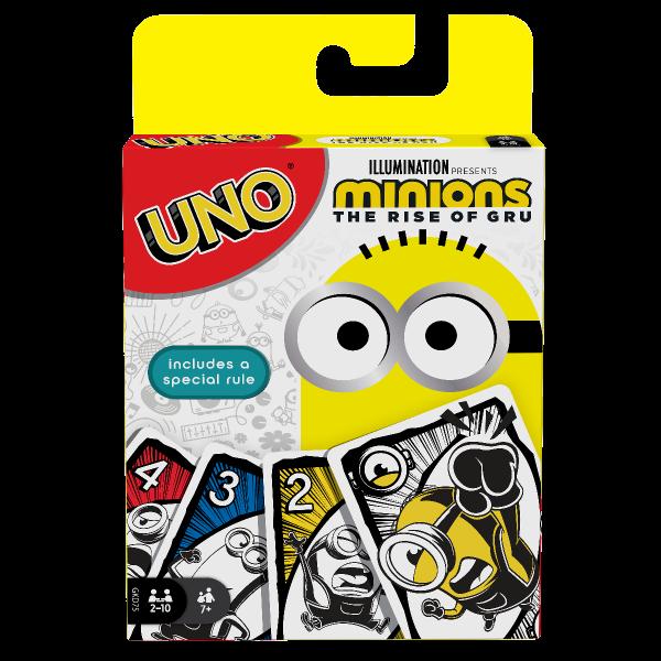 Trò chơi trí tuệ UNO – Phiên bản Minion 2 MATTEL GAMES GKD75