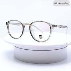 Kính tròn hotrend thời trang kính giả cận 209 Anh Shop nhận cắt mắt cận viễn loạn