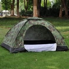 Lều cắm trại, lều cắm trại ngoài trời 2-4 người, lều phượt du lịch vải dù RẰN RI tiện lợi, chống thấm nước dễ dàng gấp gọn, kích thước 2m x 1.5m x 1.3m Shop Tiện Ích 86
