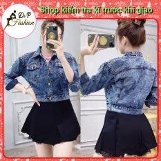 Áo Khoác Jean Nữ Chuột Đính Hạt Siêu Hot Thời Trang
