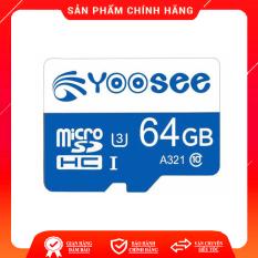 [Nhập ELJAN11 giảm 10%, tối đa 200k, đơn từ 99k]Thẻ nhớ 32Gb/ 64Gb YOOSEE U3 Class10 tốc độ cao chuyên dụng cho Camera wifi Điện thoại Hiệu suất cao tốc độ đọc nhanh