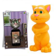 Mèo Tom thông minh cảm ứng biết nói + hát + kể chuyện cho bé (Mèo mặc áo)