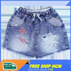 Quần Jean giả váy sành điệu cho bé gái – Chất Jean mềm mại thoáng mát size 7-27kg [ ẢNH THẬT 100% DO SHOP CHỤP ]