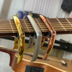 CAPO GUITAR ROCK MUSIC – GUITAR CAPO BẠC SILVER / VÀNG GOLD