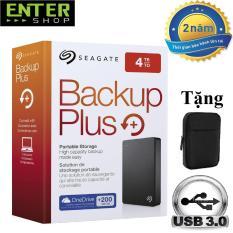 Ổ cứng di động Seagate Backup Plus 4Tb + Tặng túi bảo vệ