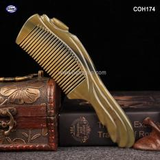 Lược sừng Hoạ tiết kiểu Châu Âu – COH174 (Size: XL – 20cm) – Mẫu cao cấp đẹp từng chi tiết – Horn Comb of HAHANCO