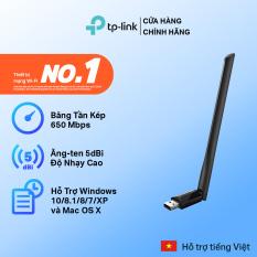[Bán Chạy 🔥]USB wifi TP-Link USB thu sóng wifi công suất cao Chuẩn AC600 Mbps Tăng cường kết nối wifi Archer T2U Plus – USB wifi chính hãng TP-Link bảo hành 2 năm 1 đổi 1