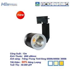 Đèn Led Rọi Ray COB 12w Vỏ Đen HG4
