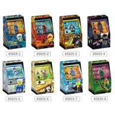 Lắp Ráp Hộp Game Ninjago Arcade Pods GM85025 Các Mẫu Nhân Vật Jay Zane Kai LLoyd Nya Sư phụ Wu Garmadon
