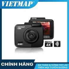 Camera hành trình VietMap C61 – GPS Wifi 4K + thẻ nhớ 32GB Class 10