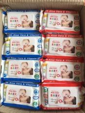 Sỉ 1 thùng giấy ướt baby phú đạt 24 gói/100 tờ-1 gói
