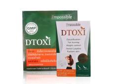 Viên uống Dtoxi giảm cân thảo mộc (full hộp)