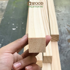 Thanh gỗ thông Dwood vuông 4×4 đã xử lý các mặt đẹp