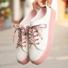 Giày sục nữ kiểu dây fashioon phối màu đẹp kiểu dáng hàn quốc