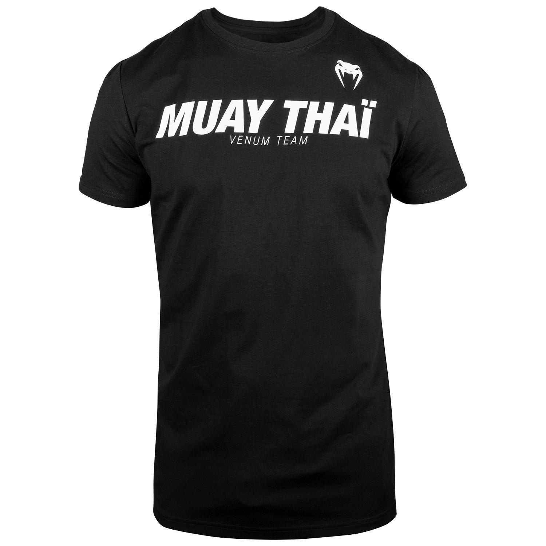 Áo Venum Muay Thai VT - Black/White