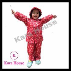 Áo mưa bộ trẻ em vải dù cao cấp